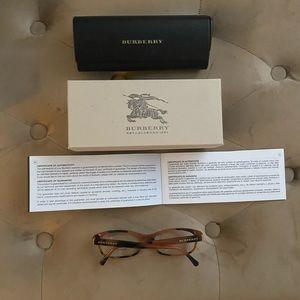 NWT Burberry Tortoise Glasses
